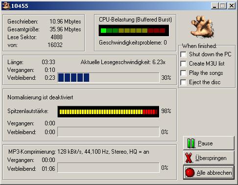 Скачать Portable Audiograbber 1.83 SE Rus. 2,17. Разработчик: www.